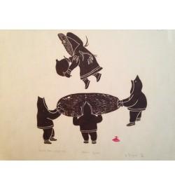 Eskimo Game print