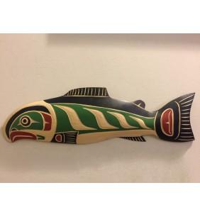 Salmon Plaque